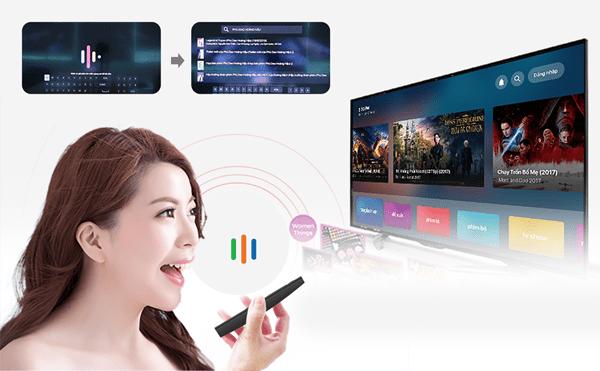 ứng dụng điều khiển android tv box bằng giọng nói